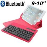 """9-10"""" Bluetooth billentyűzetes tok"""