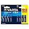 Varta Longlife AAA 1.5V alkáli elem 8db/cs.