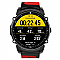 KingWear FS08 vízálló sport okosóra, fekete-piros