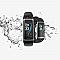 G26 fitnesz óra pulzusmérővel, fekete