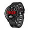 Microwear L5 vízálló sport okosóra, fekete