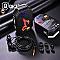 QKZ AK1 vezetékes fülhallgató és headset, fekete