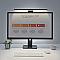 Baseus i-work series USB aszimmetrikus LED fényforrás, fekete