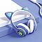 Macskafüles fejhallgató STN-28, kék