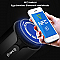 KR-8800 sztereó Bluetooth hangszóró FM rádióval és NFC-vel, kék