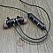T1 sport Bluetooth sztereó headset, fekete