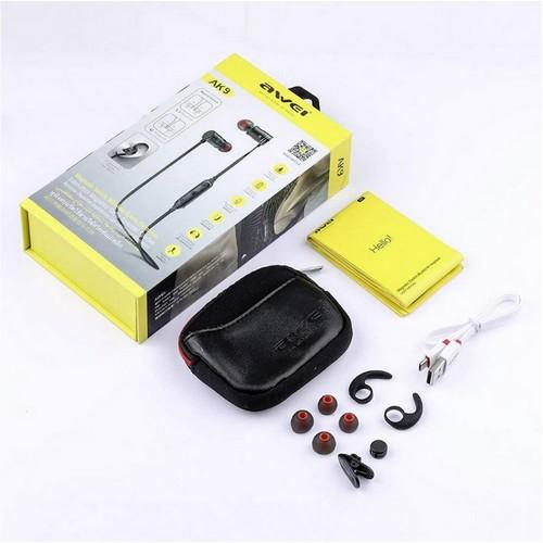 Awei AK9 Bluetooth headset, fekete
