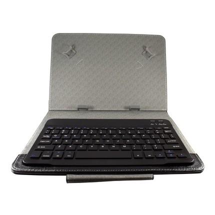 "10"" Tablet tok Bluetooth billentyűzettel, fekete, EN"