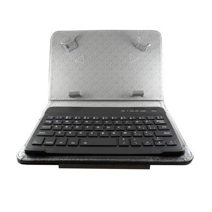 "7"" Tablet tok Bluetooth billentyűzettel, fekete, EN"
