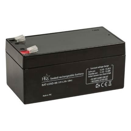 HQ zselés akkumulátor 12V 3.2Ah
