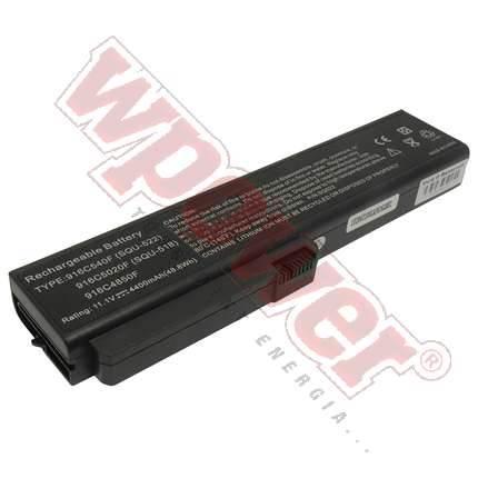 Fujitsu SQU-522 akkumulátor 5200mAh, utángyártott