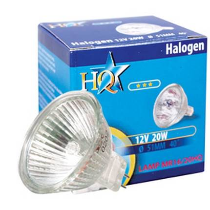 HQ halogén spot izzó MR16 20W