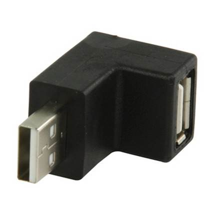 HQ USB A-A sarokadapter