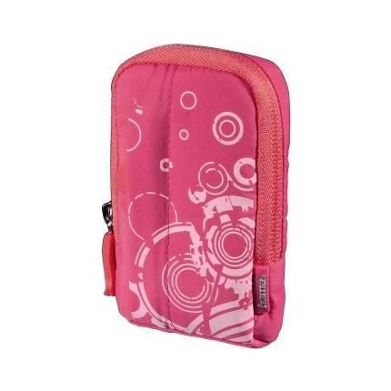 Hama 'Fancy Print' fényképezőgép tok, rózsaszín