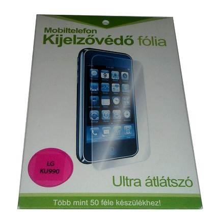 Kijelzővédő fólia LG KU990 mobiltelefonhoz