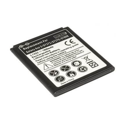 Samsung Galaxy Ace 3 3G S7260 mobiltelefon akku 1800mAh