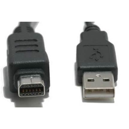 Olympus fényképezőgép USB kábel 12 tűs 2.0m