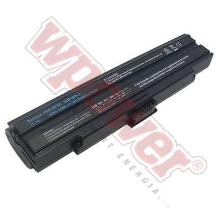 Sony VGP-BPS4 laptop akkumulátor 8800mAh, utángyártott