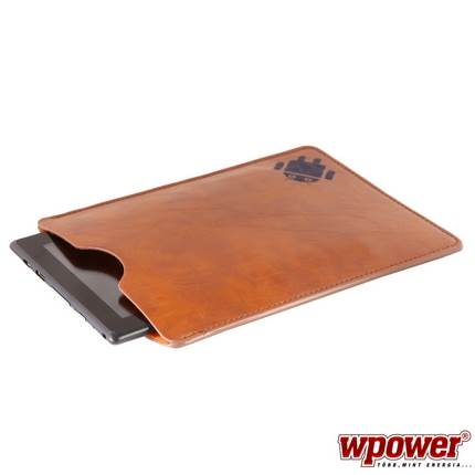 WPOWER 8'' Műbőr Tablet PC tok, barna