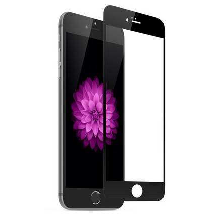 Apple iPhone 6 Plus edzett üveg kijelzővédő 0.3mm, fekete