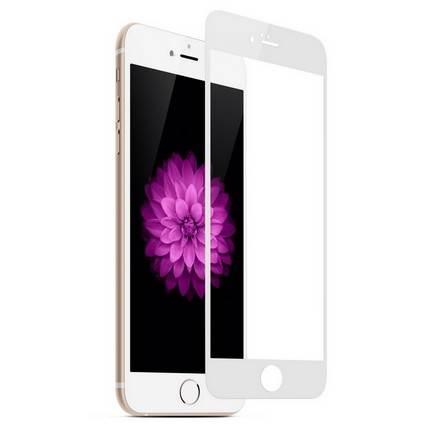 Apple iPhone 6 Plus edzett üveg kijelzővédő 0.3mm, fehér