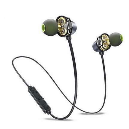 Awei X650BL Dual driver Bluetooth fülhallgató és headset, fekete
