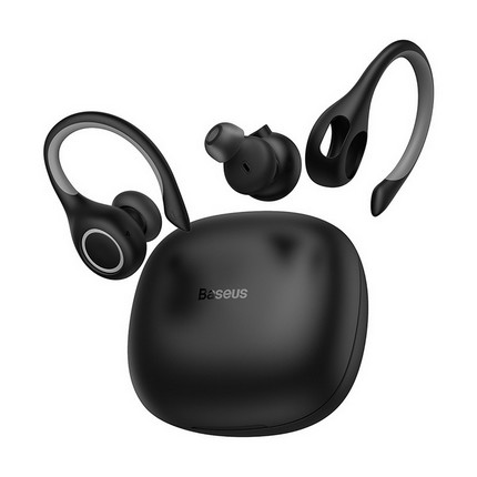 Baseus W17 Encok TWS Bluetooth 5.0 fülhallgató-headset, fekete