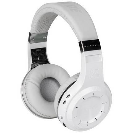 Bluedio Turbine Hurricane Bluetooth 4.1 fejhallgató, fehér