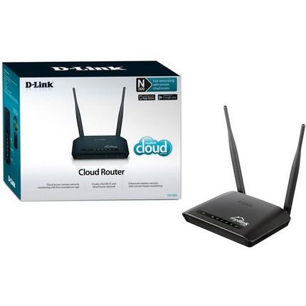 D-Link DIR-650L/E Cloud Wifi router 300Mbps 2x5dBi