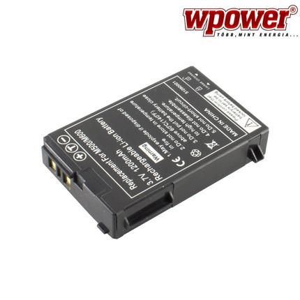 E-Ten G500 akkumulátor 1200mAh, utángyártott