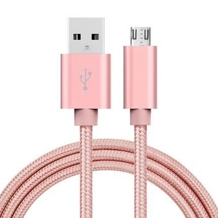 Enkay Hat-Prince Micro USB kábel 1.0m, rózsa-arany