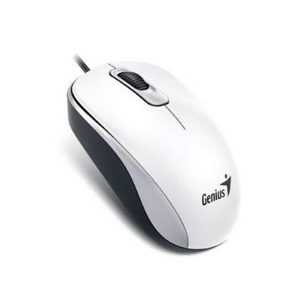 Genius DX-110 optikai egér USB, fehér