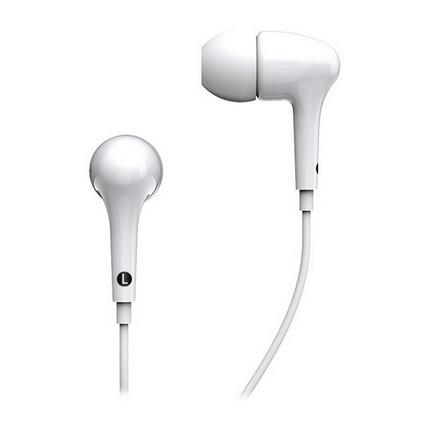 Genius GHP-206 vezetékes fülhallgató, fehér