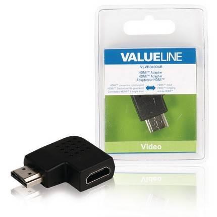 HDMI jobbos sarok adapter