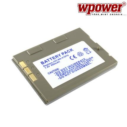 JVC BN-V107U akkumulátor 850mAh, utángyártott
