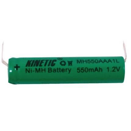 Kinetic AAA 550mAh NiMH forrasztható akkumulátor