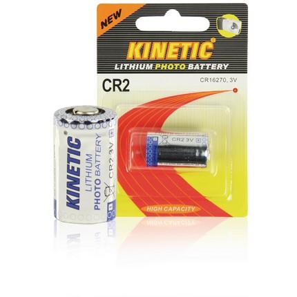 Kinetic CR2 Lithium fotó elem 3V, 600mAh