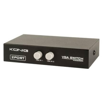 König CMP-SWITCH51 két portos VGA kapcsoló