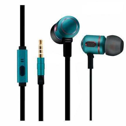 Mingge M8100 vezetékes headset, smaragd-zöld