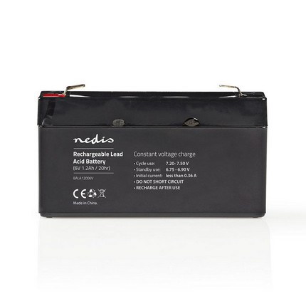 Nedis ólomsavas akkumulátor 6V 1.2Ah
