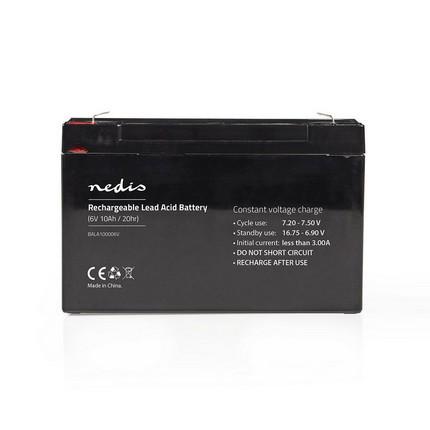 Nedis ólomsavas akkumulátor 6V 10Ah