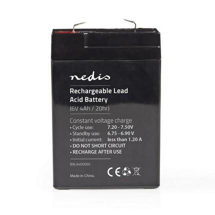 Nedis ólomsavas akkumulátor 6V 4.0Ah