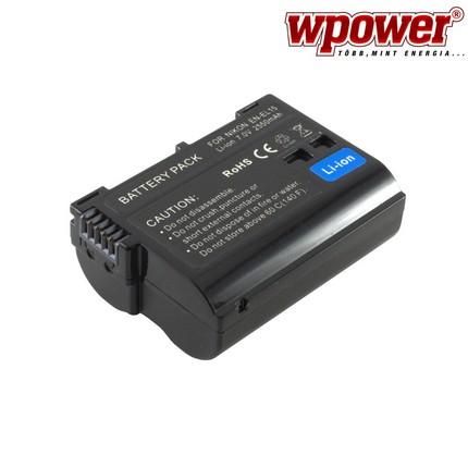 Nikon EN-EL15 akkumulátor 2550mAh, utángyártott