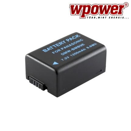 Panasonic DMW-BMB9 akkumulátor 1200mAh, utángyártott