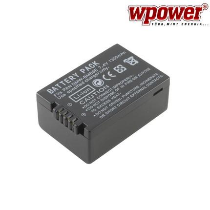 Panasonic DMW-BMB9 akkumulátor 1300mAh, utángyártott