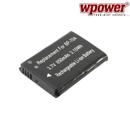 Samsung BP-70A akkumulátor 850mAh, utángyártott