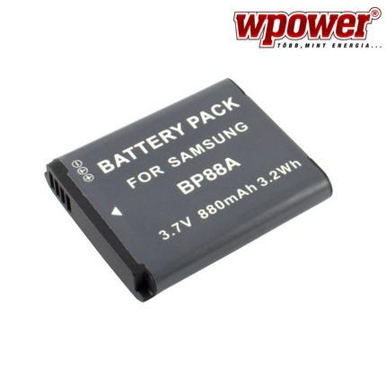 Samsung BP88A akkumulátor 880mAh, utángyártott