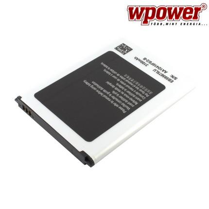 Samsung Galaxy Note 2 akkumulátor 3100mAh, utángyártott