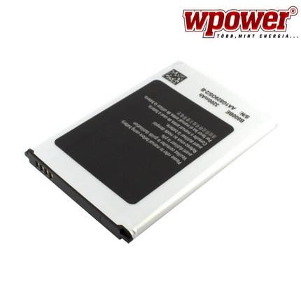 Samsung Galaxy Note 3 akkumulátor 3200mAh, utángyártott