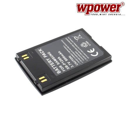 Samsung SB-P120A akkumulátor 900mAh, utángyártott